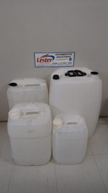 Bombonas Plásticas para Produtos Químicos Lauzane Paulista - Bombonas Plásticas Recicladas