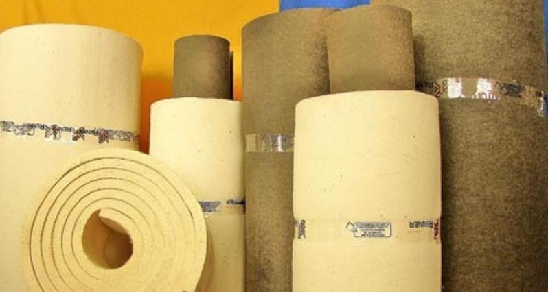 Feltro Industrial Branco Mandaqui - Feltro de Lã Industrial