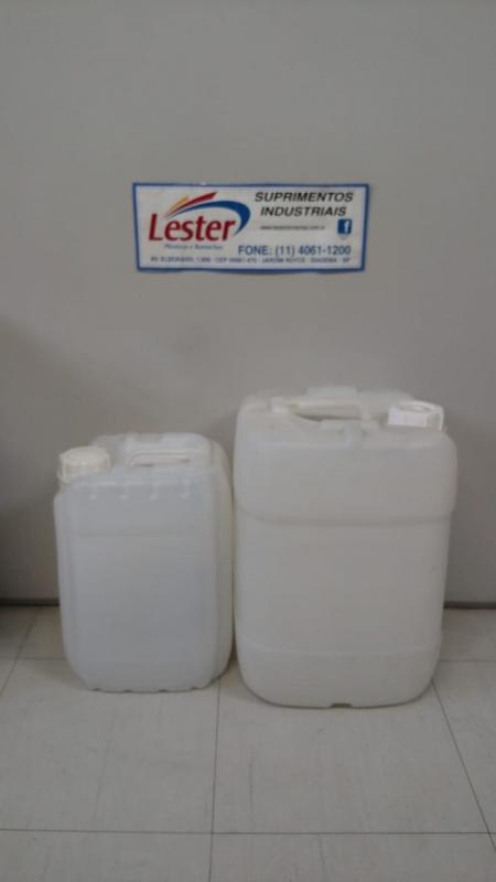 Indústria de Bombonas Plásticas Branca Campo Limpo - Bombonas Plásticas Transparentes