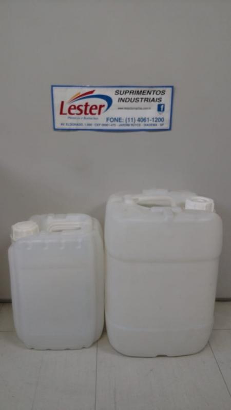 Indústria de Bombonas Plásticas para Produtos Químicos Grajau - Bombonas Plásticas Recicladas