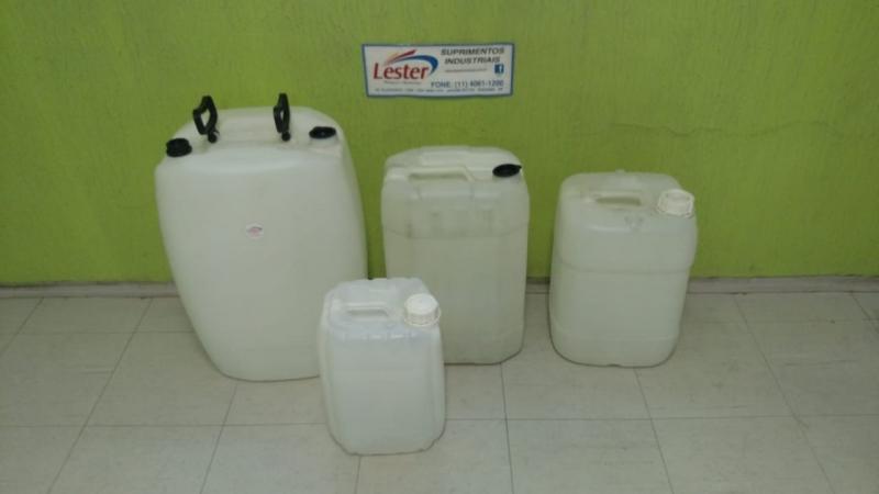 Indústria de Bombonas Plásticas Quadradas Parque Residencial da Lapa - Bombonas Plásticas Recicladas