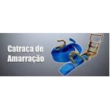 cinta para amarração de carga com catraca Vila Gustavo