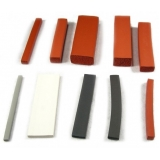 perfil de borracha de silicone preço Carandiru