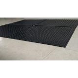 piso pastilhado para academia preço Lapa