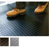 piso de borracha pastilhado colorido