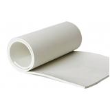 quanto custa lençol de borracha branca Alto do Pari