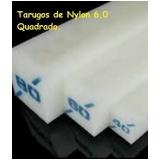 quanto custa tarugo de nylon quadrado Rio Pequeno