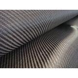 tecido em fibra de carbono